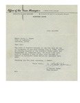 07/16/1948 Letter from the Office of the Town Manager of Rumford, Maine