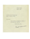 08/09/1948 Zoning Board Committee Resignation Letter
