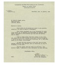 01/13/1949 Letter from Chemins de Fer Nationaux du Canada by O. A. Trudeau
