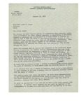 01/31/1949 Letter from the National Housing Agency Federal Housing Administration by National Housing Agency