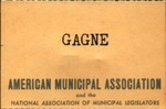 Louis-Philippe Gagne American Municipal Association Nametag