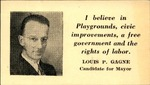 Louis-Philippe Gagne Canvassing Card by Louis-Philippe Gagne