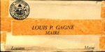 Louis-Philippe Gagne, Maire by Louis-Philippe Gagne