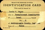 Louis-Philippe Gagne Selective Service System Card