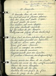 Undated Book of Poetry, Songs, and Sheet Music by Marie-Jeanne Laurendeau