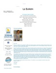 Le Bulletin, Issue 1, (September 2010) by James Myall