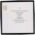 Denis Mailhot Scrapbook 'Service to God & Service to Country'