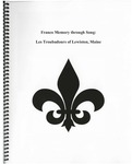 Franco Memory Through Song: Les Troubadours of Lewiston, Maine
