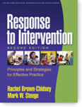 Response to Intervention: Principles and Strategies for Effective Practice (2nd Ed.) by Rachel Brown-Chidsey and Mark W. Steege