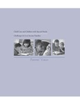Child Care and Children with Special Needs : Challenges for Low Income Families : Parents' Voices