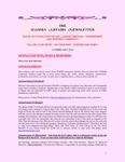 Family Affairs Newsletter 2010-02-15