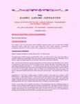 Family Affairs Newsletter 2010-03-15