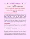Family Affairs Newsletter 2010-04-15