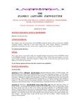 Family Affairs Newsletter 2010-08-01
