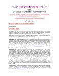 Family Affairs Newsletter 2010-10-01