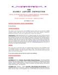 Family Affairs Newsletter 2010-10-15