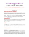 Family Affairs Newsletter 2010-11-01 by Zack Paakkonen