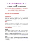 Family Affairs Newsletter 2010-12-15