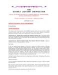 Family Affairs Newsletter 2011-01-15