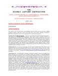 Family Affairs Newsletter 2011-06-01