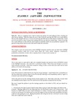 Family Affairs Newsletter 2011-09-01
