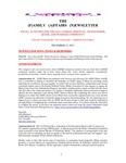 Family Affairs Newsletter 2011-12-15