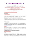 Family Affairs Newsletter 2012-04-15