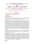 Family Affairs Newsletter 2012-05-01