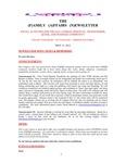 Family Affairs Newsletter 2012-05-15