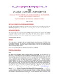Family Affairs Newsletter 2012-07-15