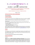 Family Affairs Newsletter 2012-08-15 by Zack Paakkonen