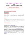 Family Affairs Newsletter 2012-09-01