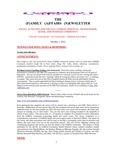 Family Affairs Newsletter 2012-10-01