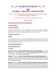 Family Affairs Newsletter 2012-10-15