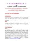 Family Affairs Newsletter 2013-01-15