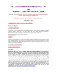Family Affairs Newsletter 2013-01-15 by Zack Paakkonen