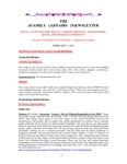 Family Affairs Newsletter 2013-02-01