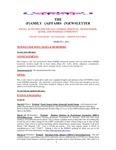 Family Affairs Newsletter 2013-03-01
