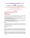 Family Affairs Newsletter 2013-04-15 by Zack Paakkonen