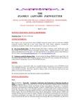 Family Affairs Newsletter 2013-05-01