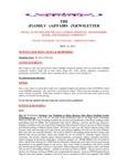 Family Affairs Newsletter 2013-05-15