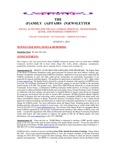 Family Affairs Newsletter 2013-08-01