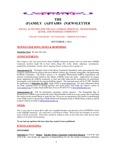 Family Affairs Newsletter 2013-09-01
