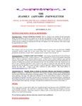Family Affairs Newsletter 2013-09-29