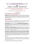 Family Affairs Newsletter 2013-10-14