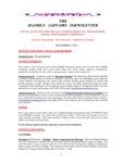 Family Affairs Newsletter 2013-11-02
