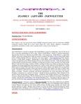 Family Affairs Newsletter 2013-12-01