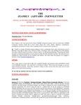 Family Affairs Newsletter 2014-01-01