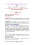 Family Affairs Newsletter 2014-02-01