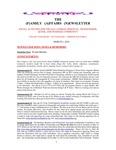 Family Affairs Newsletter 2014-03-01